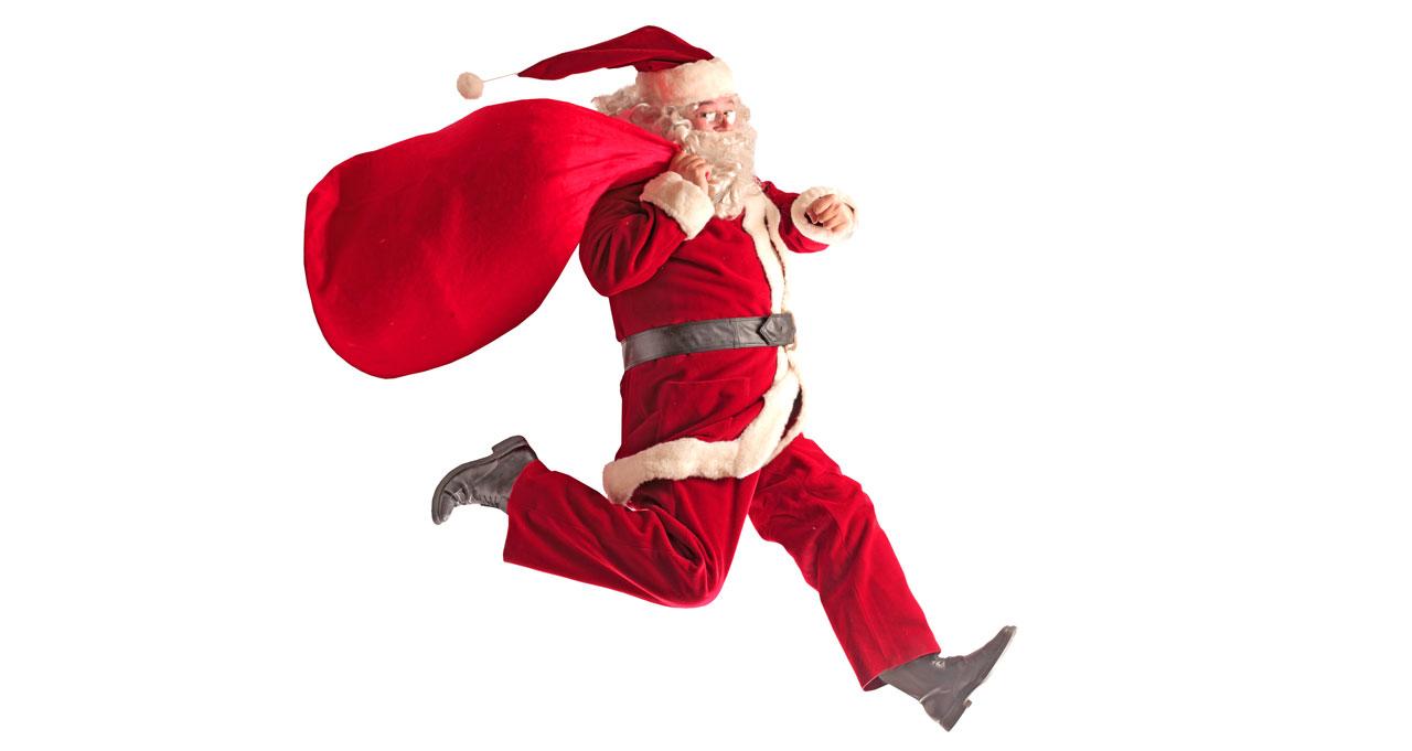 Santa's Secret Hiding Place Revealed