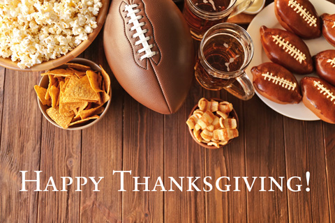 The Storage Inn blog's latest post is about Thanksgiving and Football!